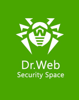 Ключ Dr.Web Security Space 1ПК/1 mobile